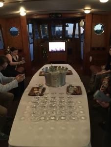 Aboard Mizner's Dream cruise