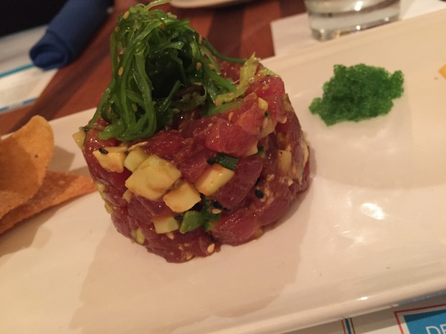 Big eye tuna tartare