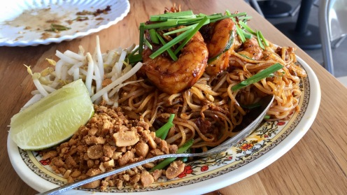 Shrimp Pad Thai from Saigon Noodle and Grill in Orlando
