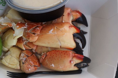 Joe's Stone Crabs in South Beach